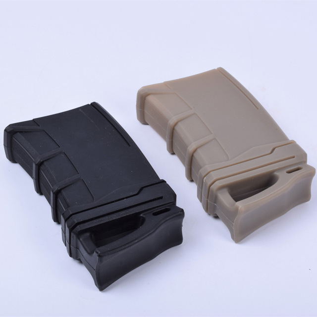 Tactical 5.56 NATO Magazine Pouch rubber holster for M4 / M16 Hunting Accessories