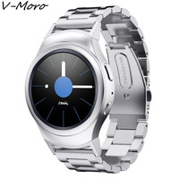Gear S2 Bands V Moro Solid Stainless Steel Metal Replacement Band With Adapters For Samsung Gear