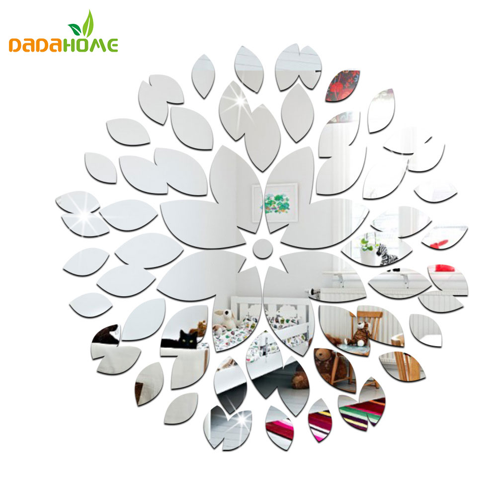 Sticker mural miroir fashion designs for Miroir stickers