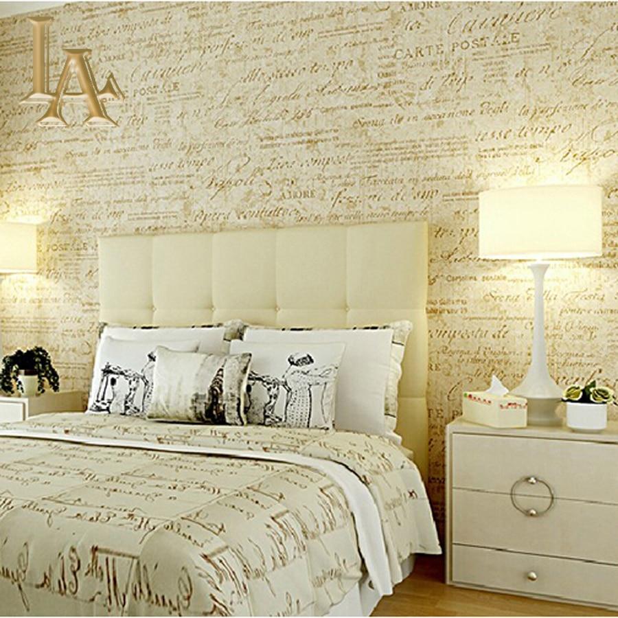 Newspaper wallpaper reviews online shopping newspaper for Vintage bedroom wallpaper