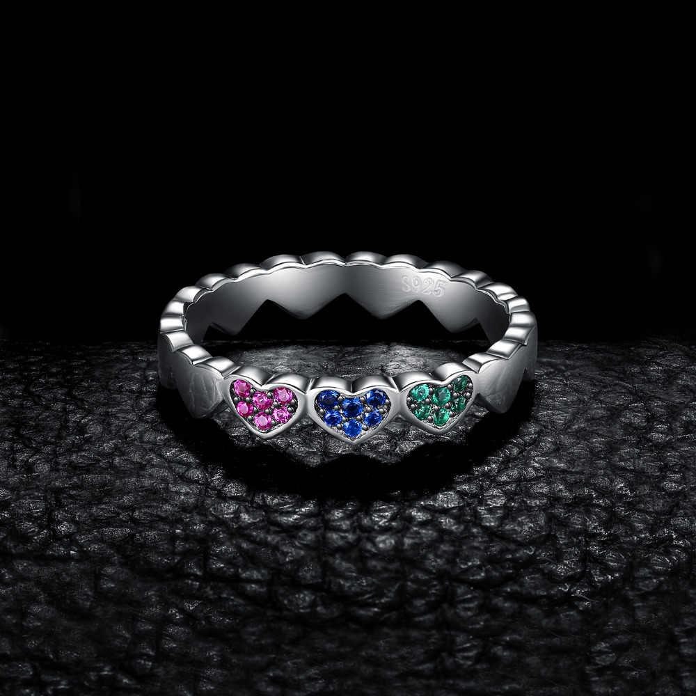 JewelryPalace スカイ雲サニー日作成ブルースピネルリング 925 スターリングシルバーギフトベストフレンズのためのホット販売新着