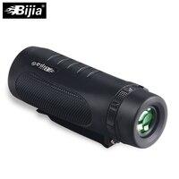 BIJIA 10X32 Powerful Multi Coated Nautical Waterproof Monocular BAK4 Prism Telescope With Clip Spotting Scope