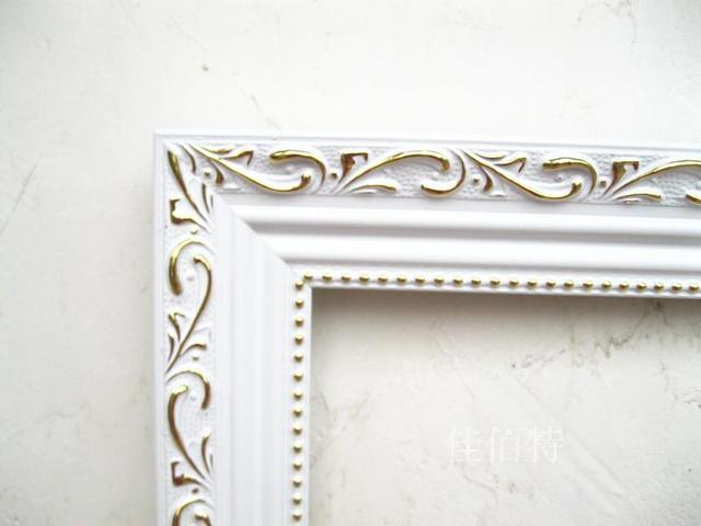 European style wood frame digital painting decorative wedding ...