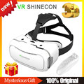 VR SHINECON 2.0 Version Virtual Reality 3D Glasses Google Cardboard Goggles+Bluetooth Wireless Mouse / Remote Control Gamepad