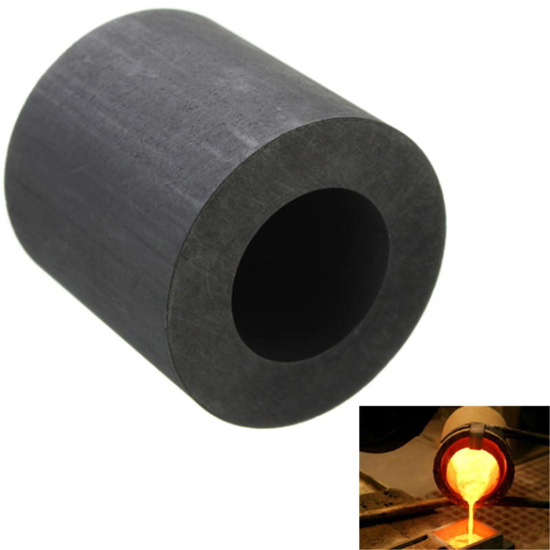 25 X 25mm 2Oz Graphite Crucible Mini Cup Propane Furnace Torch Melting Gold Silver Copper Promotion Price