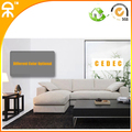 (1 chaise lounge +2 seat)modern linen chinese sofa set for small living room  #CES913