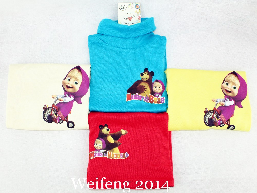 masha and bear children sweaters