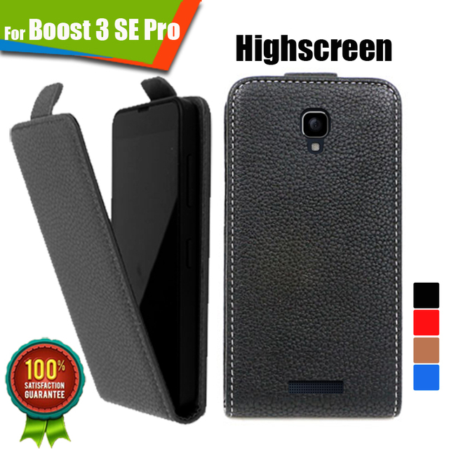 Newest  For Highscreen Boost 3 SE Pro 100% Special Case Flip case Up and Down PU Leather Case Cover, Gift