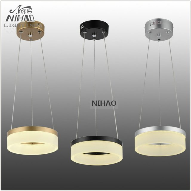 aliexpress com buy chandeliers led round ring light fixture 8 inch