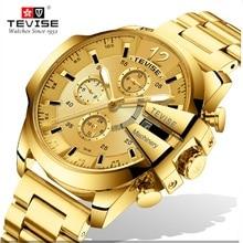 Automatic Mechanical Top Brand TEVISE Watch Men's Luxury Spo
