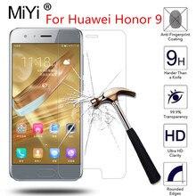 For Huawei Honor 9 STF-L09 STF-AL00 STF-AL10 STF-TL10 5.15inch HD Tempered Glass