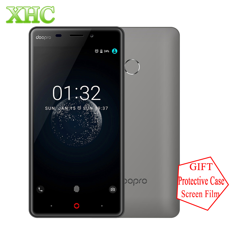 DOOPRO P1 Pro 2GB+16GB Mobile Phone Fingerprint ID 4200mAh 5.0'' Android 6.0 Snapdragon MSM8909 Quad Core 4G Dual SIM Cellphones