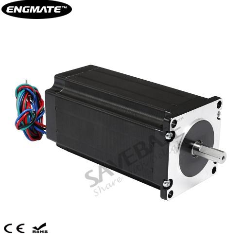 ENGMATE EMA232-11230S4 Stepper Motor 2.94N.m 1.8Degree 4 Leads 112mm
