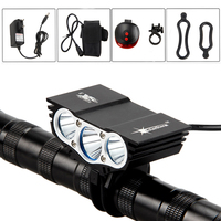 SolarStorm X3 7000Lumen XM L T6 LED Bicycle Light Bike Light Front Flash Light With Rechargeable