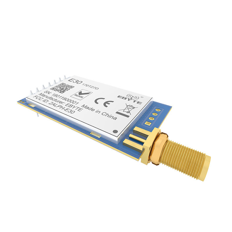 E30 170T27D 500mw Long Range 170mhz Rf Receiver Module Iot Serial Port Transmitter And Receiver