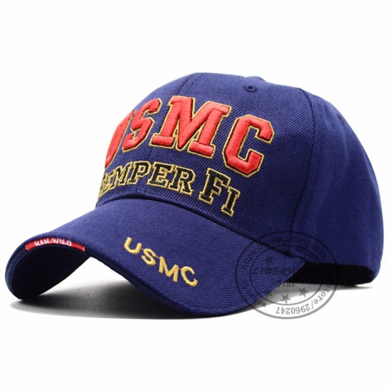 LIBERWOOD USMC official baseball cap U.S. Marine Patriot Law Enforcement  Cap Hat USMC Semper Fi Cap Men s Back to the Basics Cap-in Baseball Caps  from Men s ... c3d667d2a601
