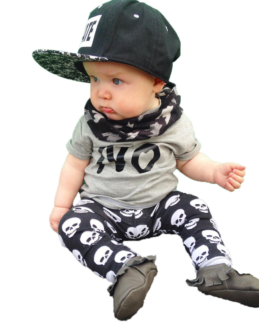 Infant Skull Clothes Promotion-Shop for Promotional Infant Skull ...