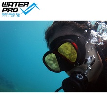 Eau Pro Vyper Onyx Plongée Miroir Masque Plongée sous-marine