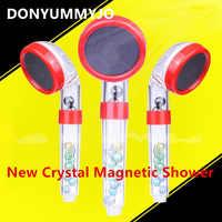 Neue Handheld wassersparende SPA Magnetfeldtherapie Bad Dusche Düse Sprinkler Sprayer Filter Rainful Duschkopf