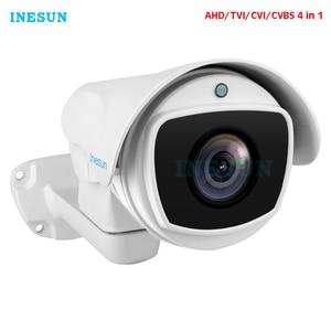 Image 1 - Inesun 4x/10x оптический зум PTZ Bullet Камера Безопасности 2MP HD 1080P 4 в 1 AHD/CVI/TVI/CVBS камера видеонаблюдения Водонепроницаемая