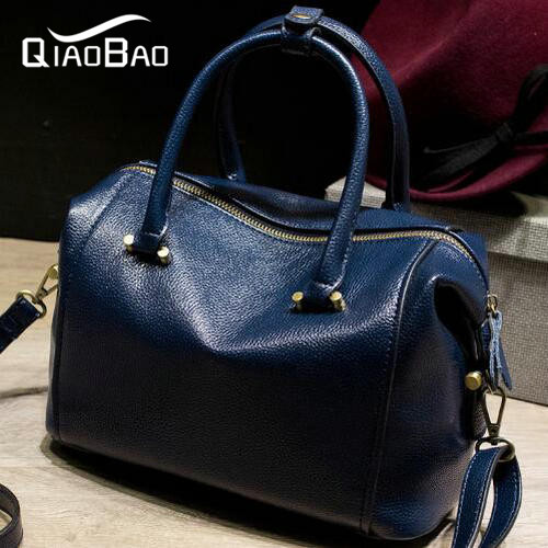 QIAO BAO 100% Genuine leather bag ladies New 2017 fashion shoulder bag famous brand women messenger bags for women handbag qiao bao man bag 2017 new famous brand high quality fashion men top leather crossbody bag male messeng bags for man