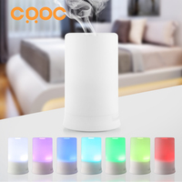 IMAYZEN 100ml LED Light 7 Color Change Dry Protect Ultrasonic Essential Oil Aroma Diffuser Air Humidifier