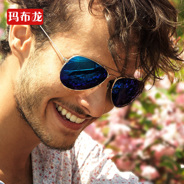 Luxury metal frame colorful aviator polarized sunglasses for men hot selling good quality comfortable light sun glasses 3026