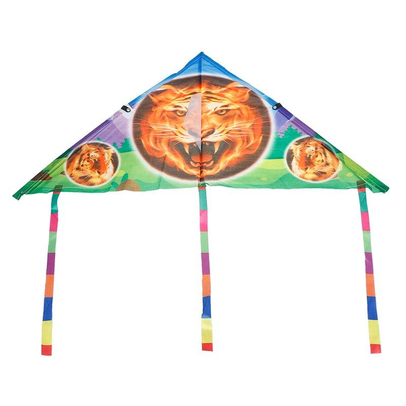 1 шт. милый мультяшный воздушный змей складной Открытый Летающий воздушный змей для детей детские спортивные игрушки без панели управления и линии