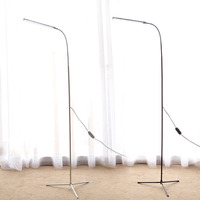 Modern Simple LED Floor Standing Lamp Bedside Floor Lamp Dimmable Black White Standing Floor Light Reading Lamp