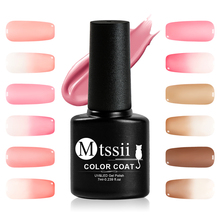 Mtssii 7ml Jelly Nude Pink Gel Varnish Translucent Pink Nail Gel Polis