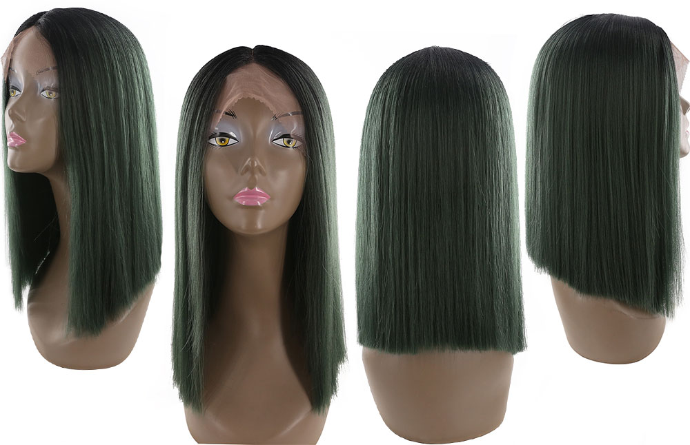 X-TRESS Höger Lace Front Parys Natural Hairline Värmebeständig - Syntetiskt hår - Foto 5