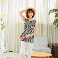 Summer Breast Feeding Vest Shirts for Pregnant Women