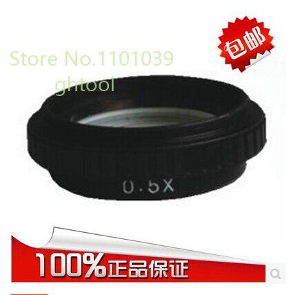 Free Shipping Jewelry Microscope Lens Dental Microscope Lens Diamond Objective Lens 0.5X jewelery tools
