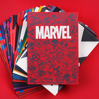 B5 40sheets Cartoon Planner Daily Students Writing Notebooks Marvel Movie Daily Memos Paiting Notepad School Notebooks