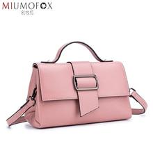 купить Genuine Leather Women Bag Luxury Brand The Buckle Handbags Women Bags Designer Ladies Fashion Shoulder Bag Crossbody Bags New по цене 2373.22 рублей