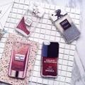 Nueva encanto quicksand teléfono glitter case para apple iphone 7 7 más 6 6 s 6 plus Perfume botella Rouge protege la contraportada capa