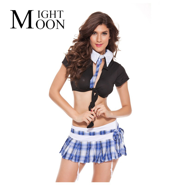Moonight Hot Sale Cute Student Role Play Uniform Club Dance Party School Girl Cosplay Cute Outfit