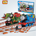 DIYWorld Loz ThomasTrain фигурки ABS модель building blocks дети алмазные кирпичи образования взрослых друзей игрушки для детей