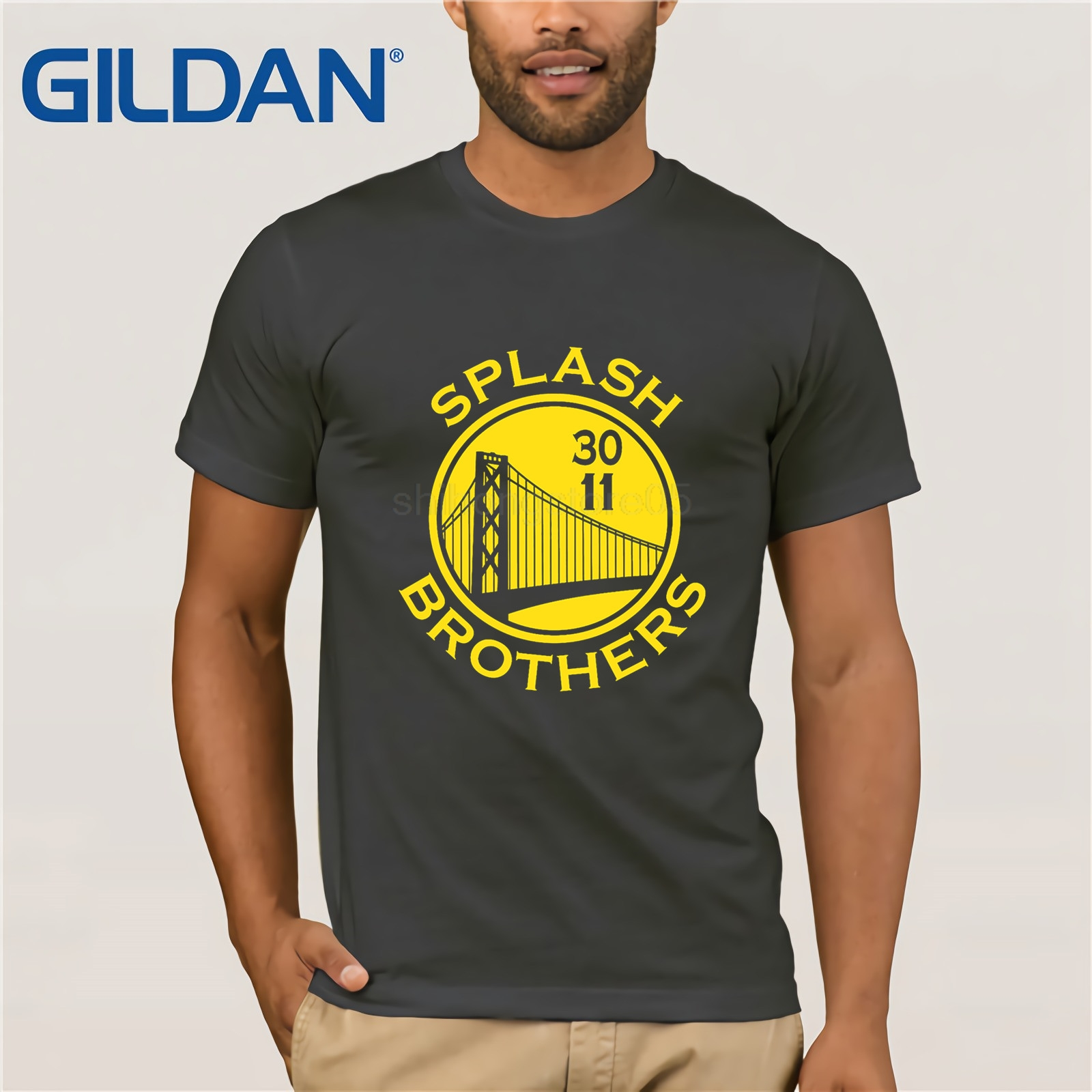 Men/'s Hoodie Super Splash Bros Golden State Warriors Curry