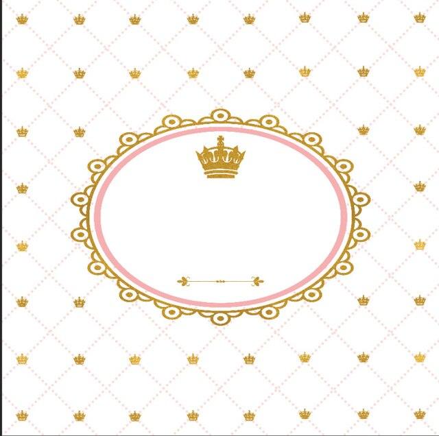 8x8ft Coroa De Diamantes De Ouro Seta Chuveiro De Beb 234