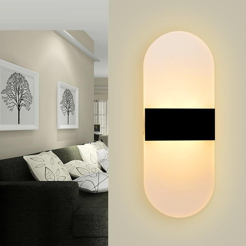 Industrieel Lampara De Pared Lampen Modern Light Wandlampe Sconce Deco Maison Applique Murale LED Luminaire Wandlamp Wall Lamp in Wall Lamps from Lights Lighting