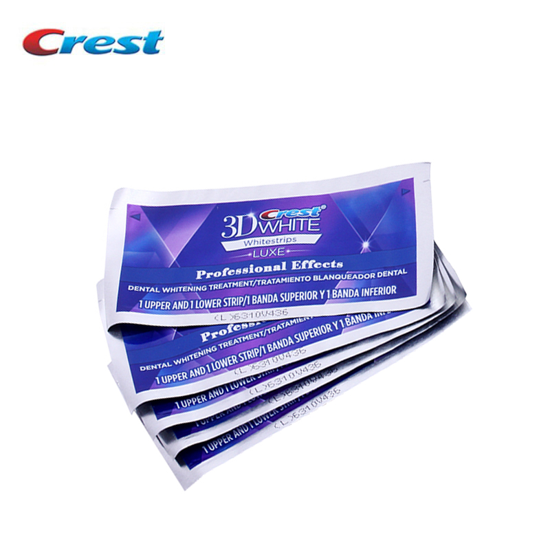 Crest 3D Whitestrips Luxe Professional Effects Oral Hygiene Teeth Whitening Dental Care Products 5Treatment White Strips in bulk pro teeth whitening oral irrigator electric teeth cleaning machine irrigador dental water flosser teeth care tools m2