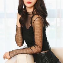 NiceMix Women Ruffles Turtleneck Plus Size T Shirt 2019 Autumn Winter New Hot Fashion Female Long Sleeve Basic Lace Soft Tops