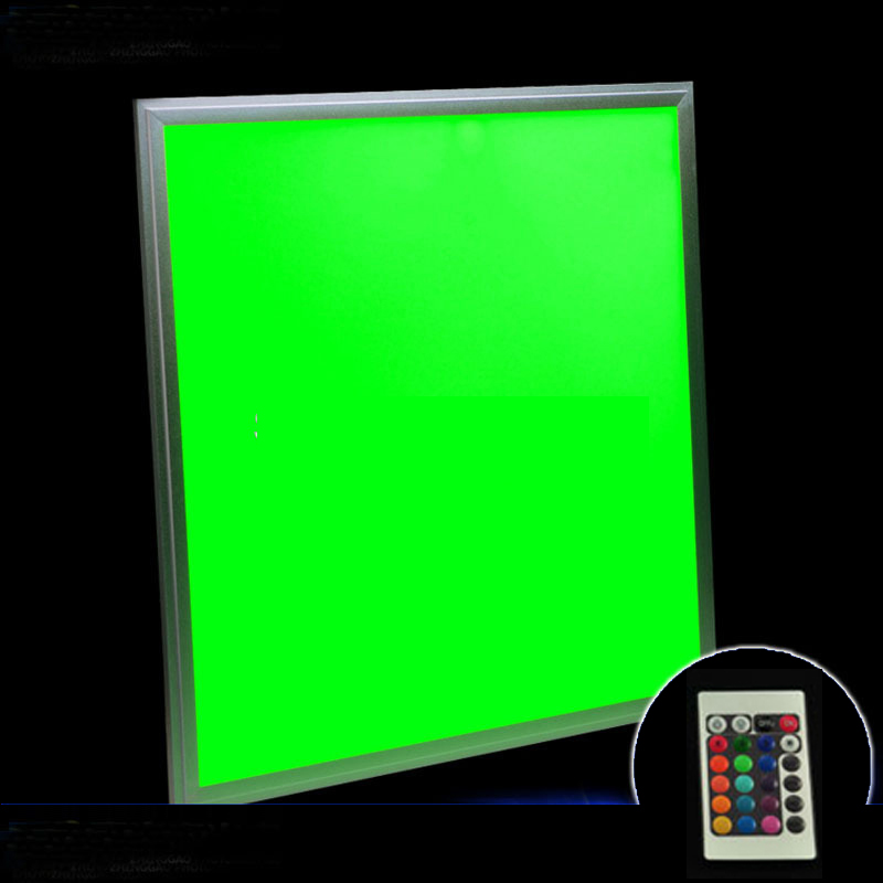 300 x 300mm RGB LED Panel light AC110V 240V Powered vase lights base with remote control