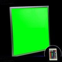 300x300 мм RGB LED Панель свет AC110V/240 В питание ваза фонари база с Дистанционный пульт Цветной огни для кальяна Кальян до