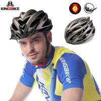 KINGBIKE 2018 Bicycle Helmets 56 62cm 210g Light Helmet Cascos Ciclismo Integrally Molded MBT Helmets Road