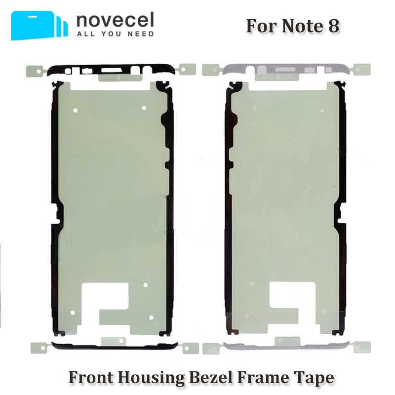 10 шт. предварительно вырезанная рамка Клейкая лента для S7edge S8 S9 + S10 + S10E Note10 + плюс ЖК-экран Рамка Корпус двусторонняя клейкая наклейка