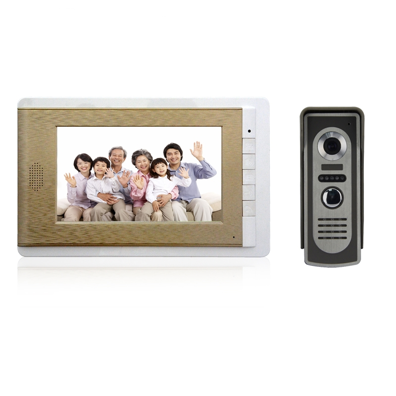 (1 set) HD 700TV Line Doorphone Video intercom one to one Home intercom system Talkback system Doorbell