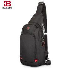 BALANG сумки через плечо для мужчин, сумка-мессенджер, нагрудная сумка, Повседневная сумка, водонепроницаемая нейлоновая сумка на одно плечо, сумка на ремне, Новая мода