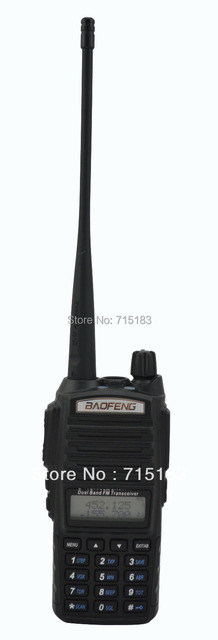 Walkie Talkie Baofeng UV-82 Dual Band 2 maneira de rádio transceptor VHF & UHF Baofeng UV 82 UV82 walkie-talkie